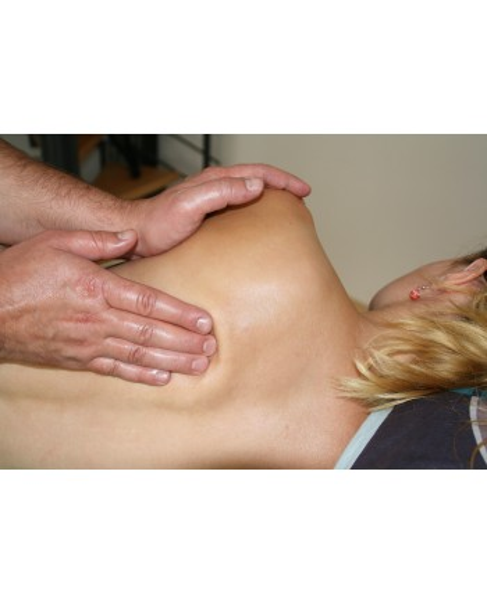 Musculaire huile de massage
